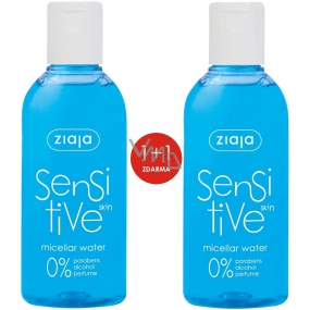 Ziaja Sensitive Skin micellar water for sensitive skin 2 x 200 ml, duopack