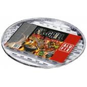 Alufix Grilling aluminum round bowls diameter 34 cm, 3 pieces