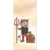 Nekupto Christmas bag Devil 18 x 40 cm LA 019