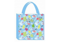 AAH Shopping bag with printing 38x38x10cm Flamingos 0315