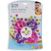 First Steps Rattle Teether Rattle Teether