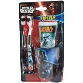 Disney Star Wars toothpaste 75 ml + 2 x toothbrush + crucible Gift set for children ex.12 / 2018