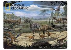 3D postcard - Dinosaur marsh 16 x 12 cm