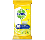 Dettol Lemon & Lime antibacterial wipes for surfaces of 32 pieces