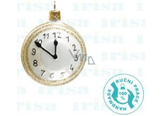 Irisa Flask clock white 6.5 cm