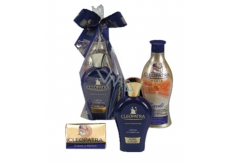 Cleopatra toilet soap 125 g + shower milk 500 ml + body lotion 500 ml, cosmetic set