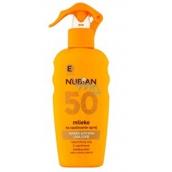Nubian OF50 Sun lotion 200 ml spray