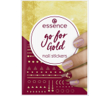 Essence Go for Gold Nail Stickers nail stickers 74 pieces