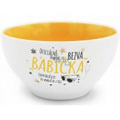 Nekupto Gift Center Ceramic Bowl Cool Grandma 13 x 6.5 cm