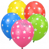 Party Time Inflatable balloons, stars 28 cm 5 pieces
