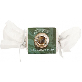 Bohemia Gifts & Cosmetics Coffee handmade toilet soap with caffeine and glycerin candy 30 g