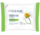Cleanic Intimate Chamomile wipes for intimate hygiene 10 pieces