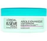 Loreal Elseve Argile Extraordinarie Clay očisťující maska pro rychle mastící se vlasy 150 ml