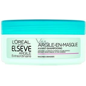 Loreal Paris Elseve Argile Extraordinarie Clay cleansing mask for fast lubricating hair 150 ml