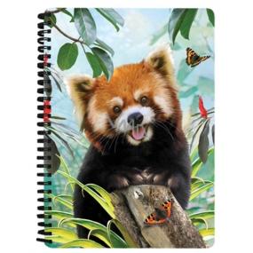 Prime3D notebook A5 - Panda Red 14.8 x 21 cm