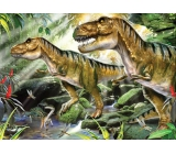 Prime3D Poster - Dinosaurs - double difficulty 39.5 x 29.5 cm