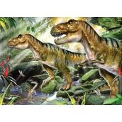 Prime3D Poster Dinosaurs - Double Trouble 39,5 x 29,5 cm