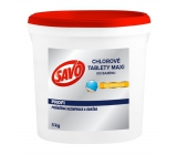 Savo Maxi Chlorine tablets for disinfection pool Maxi 5 kg