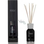 Millefiori Milano Natural Nero - Black Diffuser 100 ml + 7 stalks 25 cm long in smaller spaces last 5-6 weeks