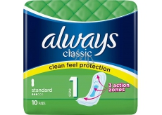 Always Classic Standard Intimate Inserts 10 pieces