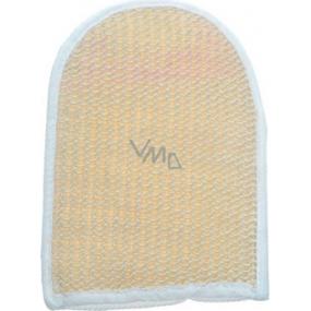 Abella Sisal Massage washcloth no.12-pocket 16x20 cm