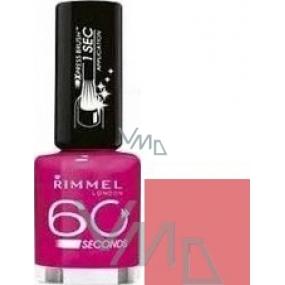 Rimmel London 60 Seconds nail polish 405 Rose Libertine 8 ml