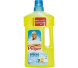 Mr. Proper Clean & Shine Lemon universal cleaner including lacquered wood and 1 liter laminate