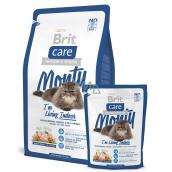 Brit Care Kuře + rýže pro dospělé kočky žijící uvnitř 7 kg, Hypoalergenní kompletní krmivo