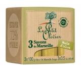 Le Petit Olivier Mairseil soap 3x100g Olive oil