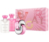 Bvlgari Omnia Pink Sapphire Eau de Toilette 40 ml + Body Lotion 40 ml + Shower Gel 40 ml, Gift Set