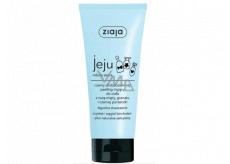 Ziaja Jeju Black micro-peeling and shower gel with anti-inflammatory and antibacterial effects 200 ml