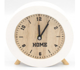 Nekupto Home Decor Clock white 11.5 cm