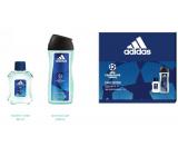 Adidas UEFA Champions League Dare Edition VI eau de toilette for men 50 ml + shower gel 250 ml, gift set