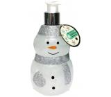 Salsa Collection Shining Star Snowman white shower gel dispenser 440 ml