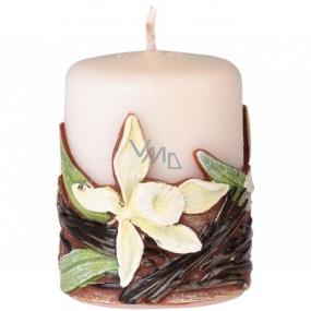 Emocio Vanilla Vanilla candle cylinder 50 x 60 mm