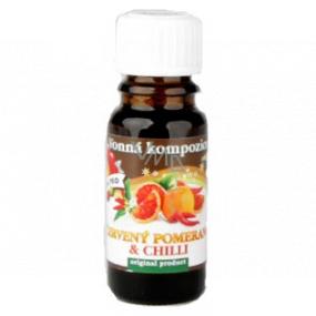 Slow-Natur Red Orange & Chilli Essential Oil 10 ml