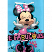 Nekupto Gift paper bag 32 x 26 x 12 cm Minnie Mouse 2048 LGL