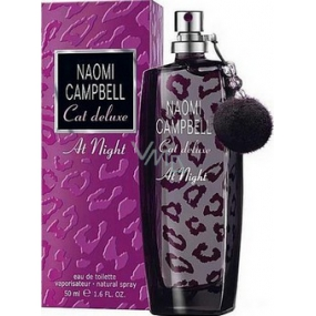 Naomi Campbell Cat Deluxe At Night EdT 50 ml eau de toilette Ladies