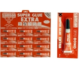 Samson Super Glue liquid instant glue red 12 x 3 g
