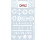 Ovo Easter decals White 12 motives 1 miniature sheet