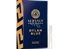 Versace Dylan Blue toaletní voda pro muže 1 ml s rozprašovačem, Vialka