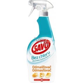 Savo Chlorine-free degreaser disinfectant spray 700 ml