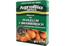AgroBio Mistral pro hubení plevelů v bramborech 2 x 10 g