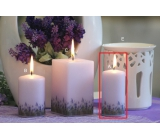 Lima Lavender candle light purple cylinder 50 x 100 mm 1 piece