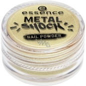 Essence Metal Shock Nail Powder pigment na nehty 04 A Touch of Vintage 1 g