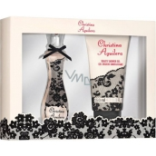 Christina Aguilera Signature parfémovaná voda pro ženy 30 ml + sprchový gel 150 ml, dárková sada