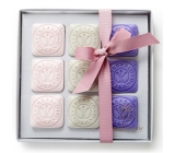 Erbario Toscano Lavender, Ambra and Hyacin soap 9 x 30 g cosmetic set