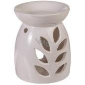 AROMALAMPA ceramic 130x100 mm white petals 3162