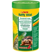 Sera Raffy Vital granulated basic food for terrestrial turtles and all other herbivorous reptiles 250 ml