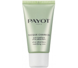 Payot Pate Grise Masque Charbon absorbent matt black mask for combination to oily skin 50 ml